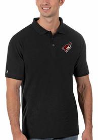 Arizona Coyotes Antigua Legacy Pique Polo Shirt - Black
