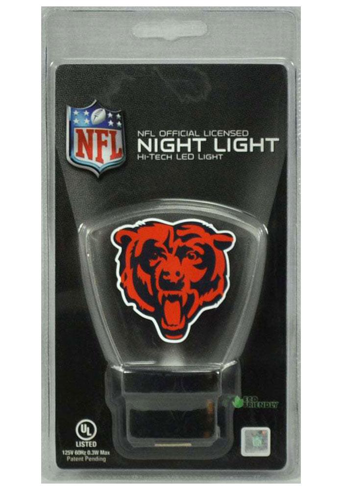 Chicago Bears LED Illuminated Night Light - Image 1