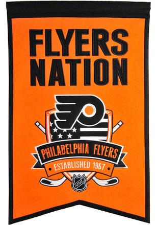 philadelphia flyers 14x22 nation banner