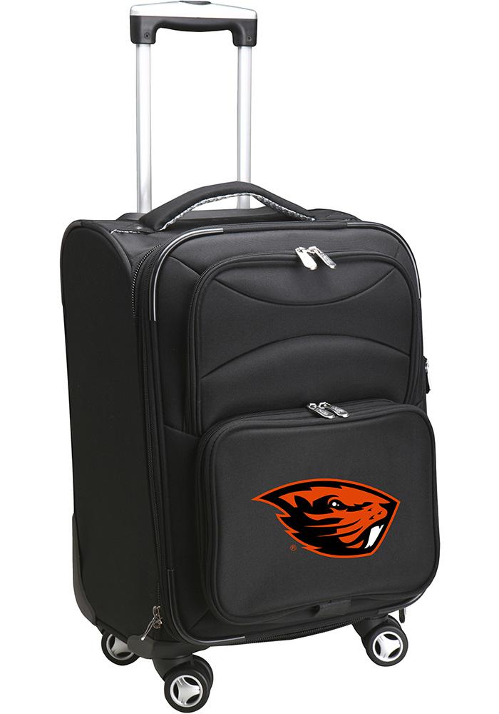 Oregon State Beavers Black 20g Softsided Spinner Luggage - Image 1