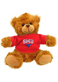 SMU Mustangs 6 Inch Jersey Bear Plush