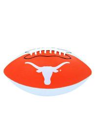 Texas Longhorns Grip Tech Rubber Football
