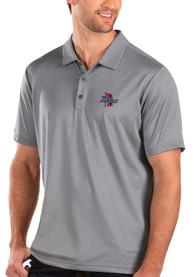 Tulsa Golden Hurricanes Antigua Balance Polo Shirt - Grey