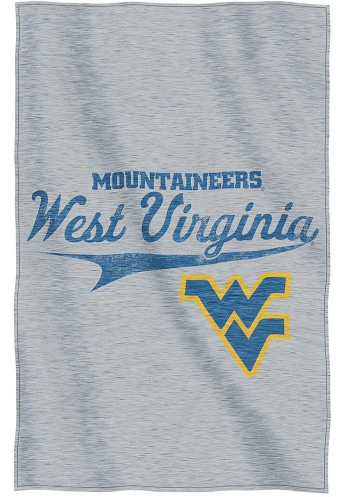 West Virginia Mountaineers 54x84 Sweatshirt Sweatshirt Blanket - Image 1