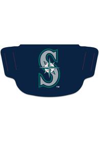Seattle Mariners Team Logo Fan Mask - Navy Blue