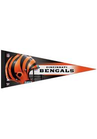 Cincinnati Bengals 12x30 Helmet Premium Pennant