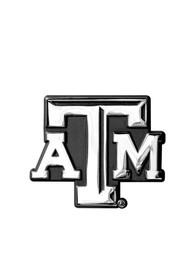 Texas A&M Aggies Chrome Car Emblem - Silver